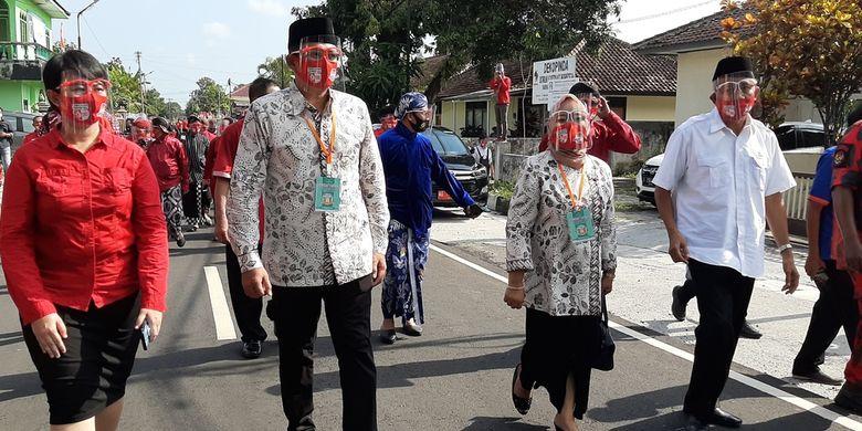 Tolak Dukung Sri Muslimatun-Amin, Beringin Muda Militan Sleman Pilih Dukung Kustini-Danang