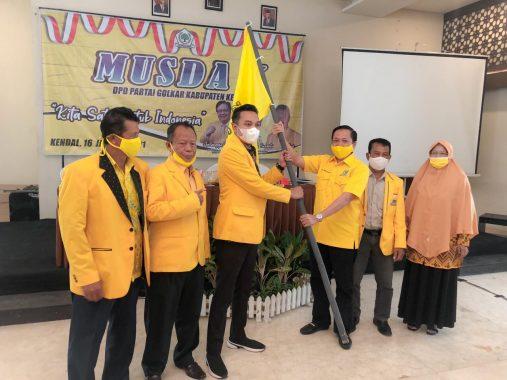Bagus Bimo Alit Terpilih Aklamasi Pimpin Golkar Kabupaten Kendal
