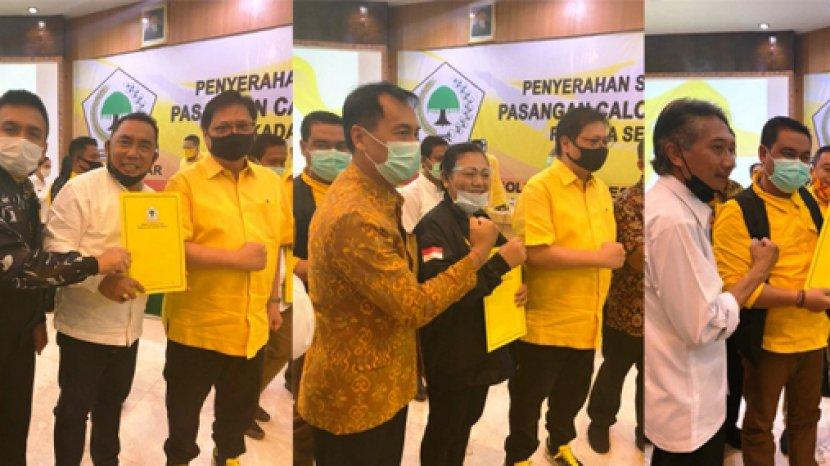 Dapat Rekomendasi DPP, Demer Minta Tiga Paket Bupati-Wakil Bupati di Bali Ini Tancap Gas