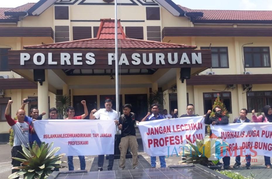 Aliansi Jurnalis Bangil-Pasuruan Laporkan Misbakhun ke Polisi, Ini Pemicunya