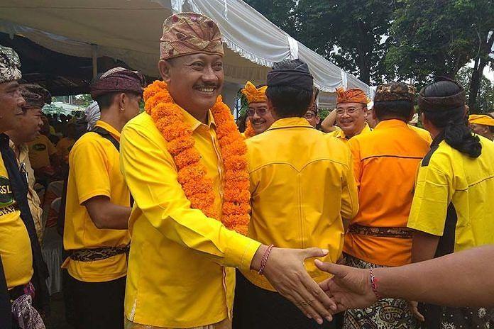 Jika Terpilih Pimpin Golkar Bali, Demer Janji Lepas Jabatan di DPP