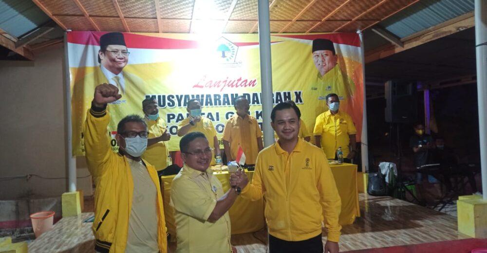 Walikota Marten Taha Terpilih Kembali Pimpin Golkar Kota Gorontalo