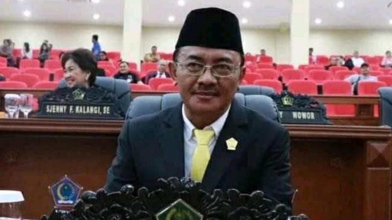 Tokoh Golkar Bolmong Raya Hanafi Tomy Sako Meninggal, Golkar Sulut Berduka