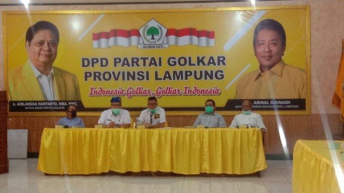 Ismet Roni Optimis Golkar Bakal Dominasi Kemenangan Pilkada se-Lampung 2020