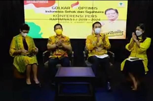 Menanti Pernyataan Politik Airlangga Hartarto di Rapimnas Golkar