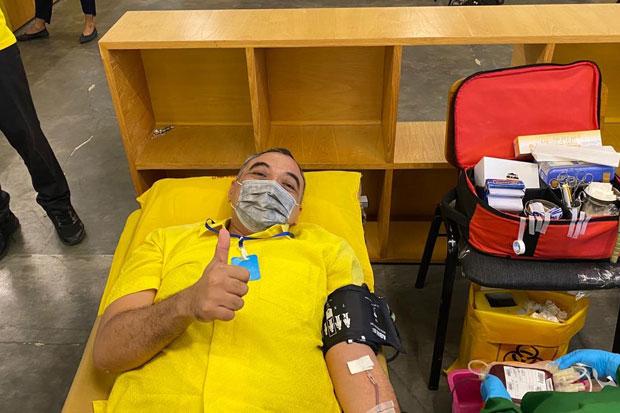 Golkar DKI Gandeng PMI Gelar Donor Darah Atasi Menipisnya Stok Darah di Jakarta