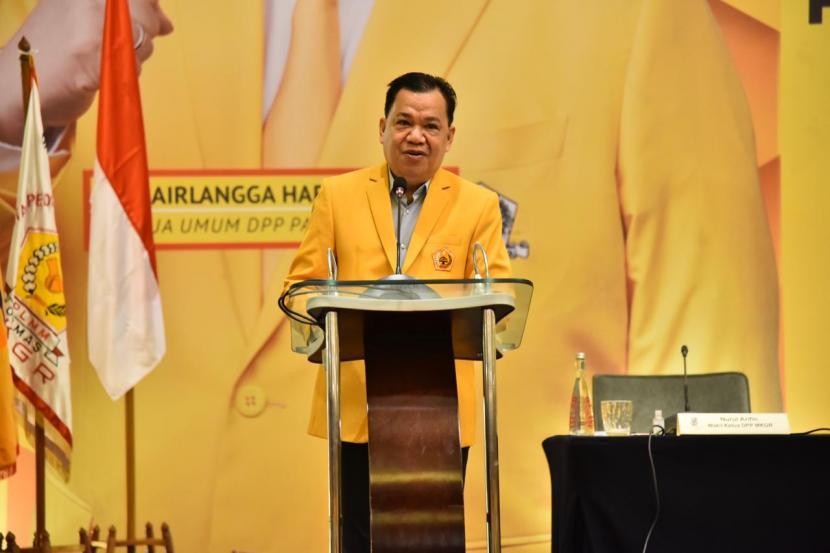 Roem Kono Minta Kader Ormas MKGR Solid dan Loyal Dukung Kebijakan Ketua Umum Golkar
