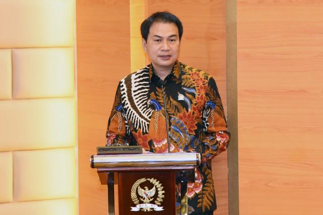 Azis Syamsuddin Harap Insan Pers Terus Berkontribusi Kawal Demokrasi dan Pemulihan Ekonomi