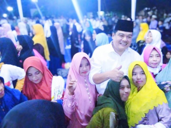 Masyarakat Tempuran Optimis Musa Ahmad-Ardito Wijaya Dapat Sejahterakan Lampung Tengah