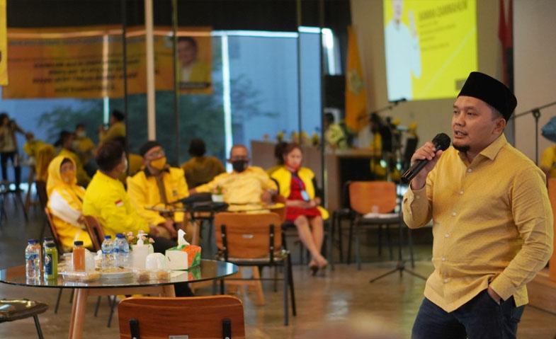 Golkar Jakbar Bekali Ratusan Kadernya Dengan Pendidikan Politik