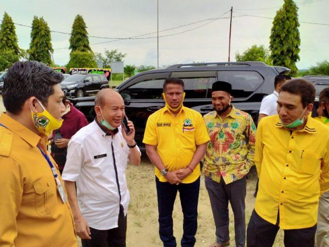 Di Aceh Tamiang, TM Nurlif Sebut Golkar Bukan Partai Berkarakter Oposisi