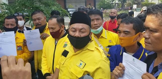 Sempat Diwarnai Kericuhan, Sachrudin Terpilih Aklamasi Pimpin Lagi Golkar Kota Tangerang
