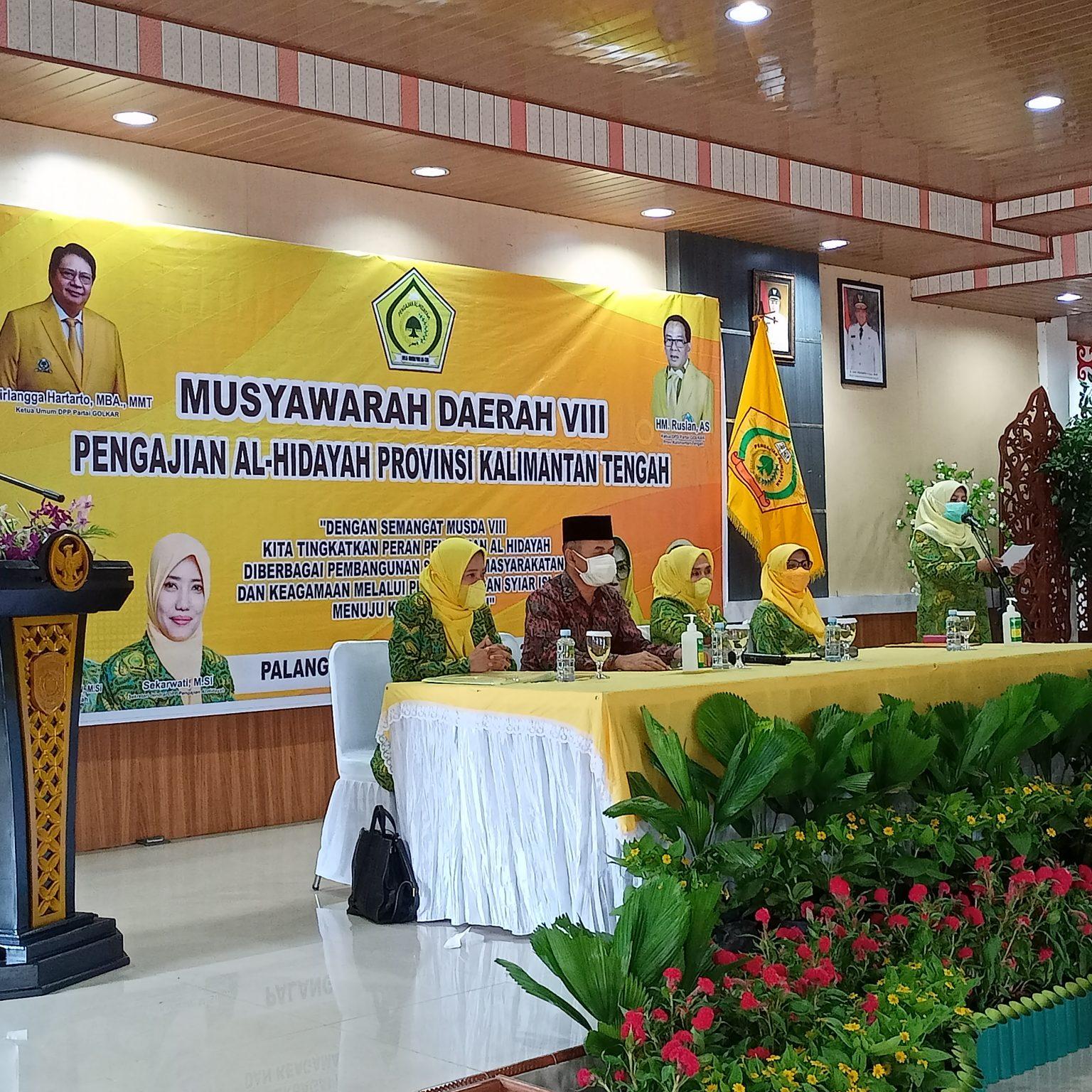 Hj Zaidah Abdul Razak Kembali Dipercaya Pimpin DPD Al-Hidayah Kalteng