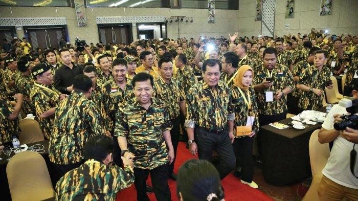 AMPG Solid Amankan Setya Novanto Pimpin Golkar Hingga Akhir Masa Jabatan