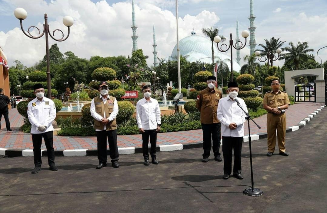 Canangkan Vaksinasi COVID-19 Serentak, Wagub Andika Hazrumy Targetkan 200 Ribu Warga Banten Partisipasi