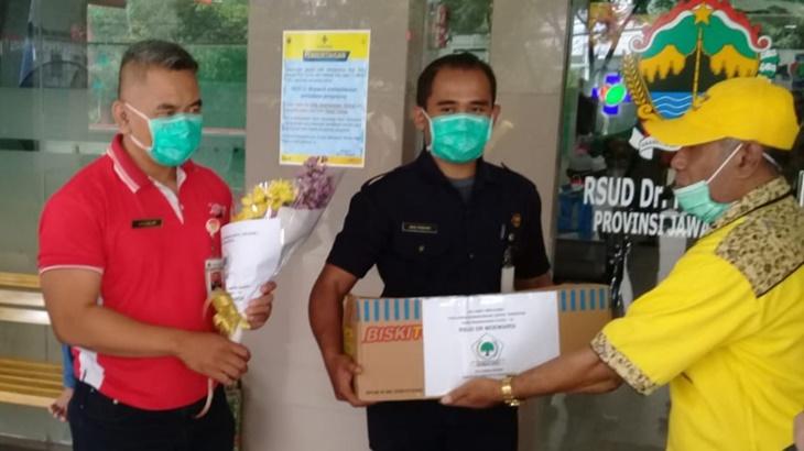 KLB COVID-19, Legislator Golkar DPRD Solo Sumbangkan Tiga Bulan Gaji