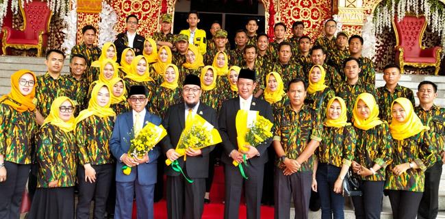 Spirit Penuh Cinta AMPG Lampung Untuk 10 Anggota DPRD Terpilih Dari Golkar