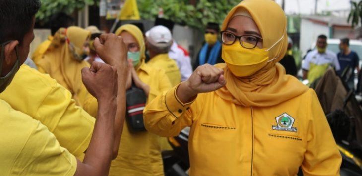 Ade Puspitasari Apresiasi UMKM Yang Pendapatannya Justru Naik Saat Pandemi
