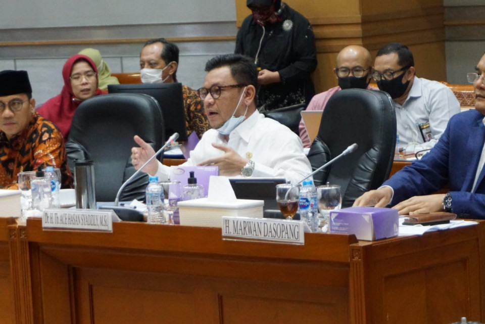 Ace Hasan Ingin Pandemi COVID-19 Jadi Momentum Tuntaskan RUU Omnibus Law Cipta Kerja