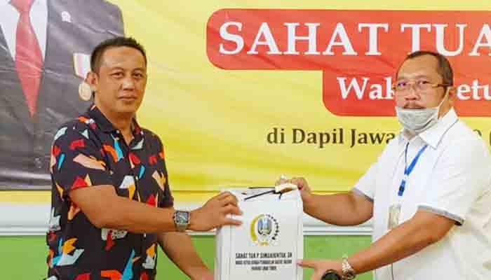 Ini Cara Sahat Tua Simanjuntak Putus Mata Rantai Penularan Corona di Dapil IX Jawa Timur