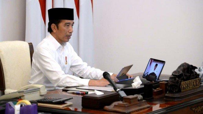 Penting! Jokowi Ingatkan Kader Golkar Mampu Tumbuhkan Sense of Crisis di Tengah Pandemi