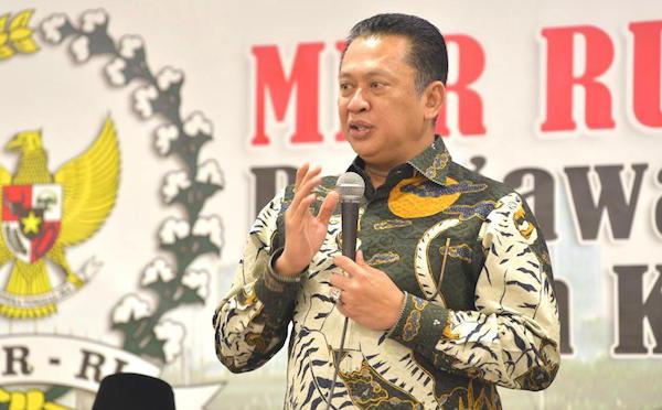 Wabah Corona, Bamsoet Dukung Imbauan Jokowi Agar Belajar, Bekerja, Beribadah di Rumah