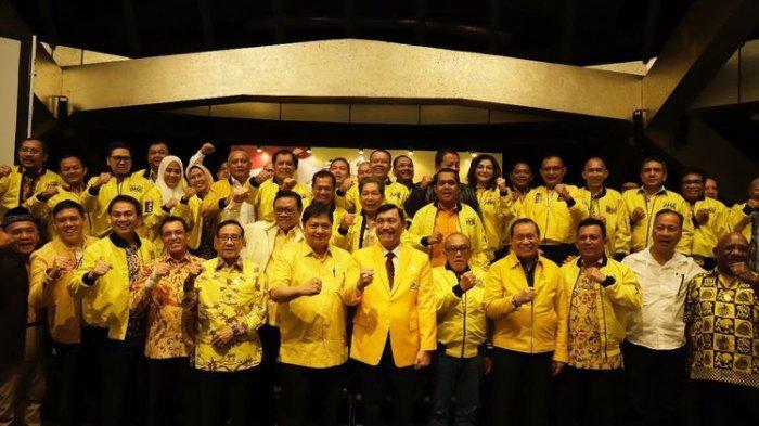 Ada 107 Pengurus Harian, Gemuknya Struktur DPP Partai Golkar 2019-2024