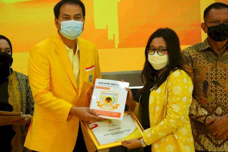 Kader Muda SOKSI, Aisyah Claresta Jadi Salah Satu Peserta Terbaik Golkar Institute