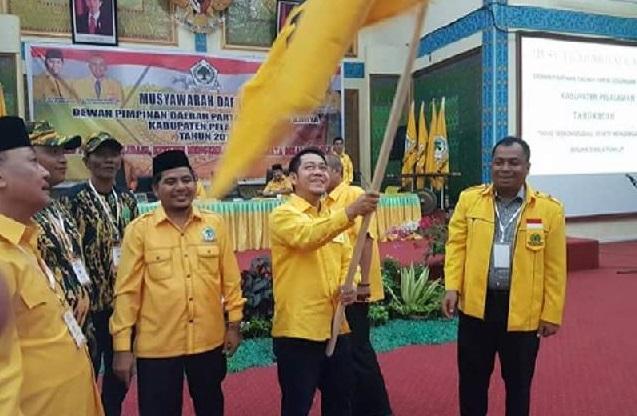Adi Sukemi dan Budi Artiful Sama-Sama Klaim Elektabilitas Meningkat Jelang Pilkada Pelalawan 2020