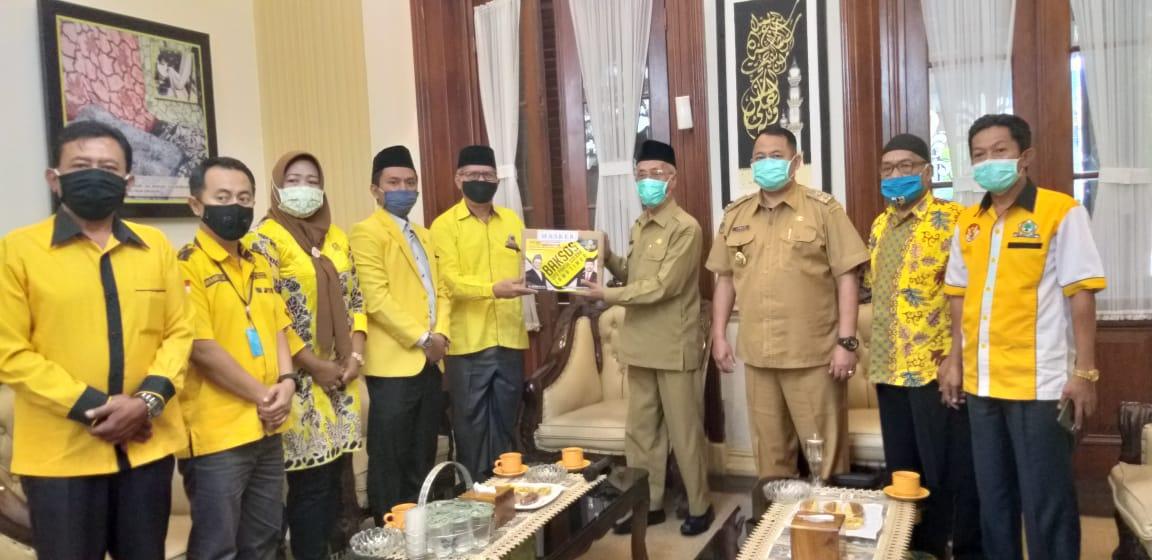 Bupati Salwa Arifin Salut dan Bangga Golkar Satu-Satunya Partai Bantu Perangi COVID-19 di Bondowoso