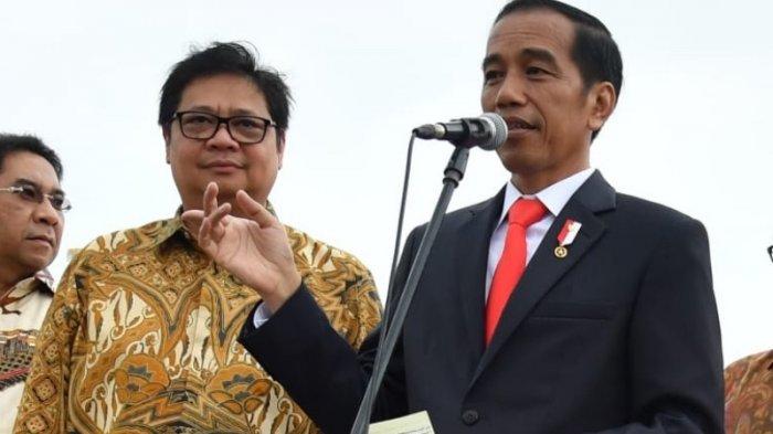 Airlangga Puji Jokowi Buat Terobosan Besar Dengan Terapkan UU Cipta Kerja