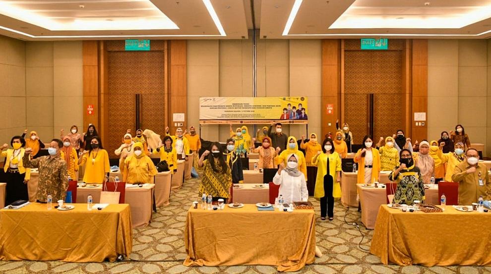Di Hadapan GP MKGR, Hetifah Tekankan Peran Penting Perempuan Terapkan Protokol CHSE