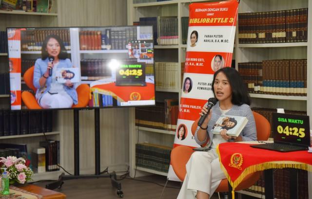 Puteri Komarudin Ungkap Peran Penting Perpustakaan Tingkatkan Minat Baca Kaum Milenial