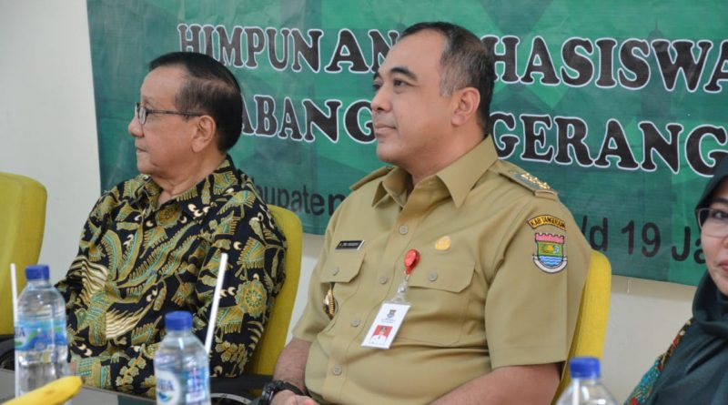 Bersama Akbar Tandjung, Ahmed Zaki Iskandar Jadi Narasumber Pelatihan Kader HMI Tangerang Raya