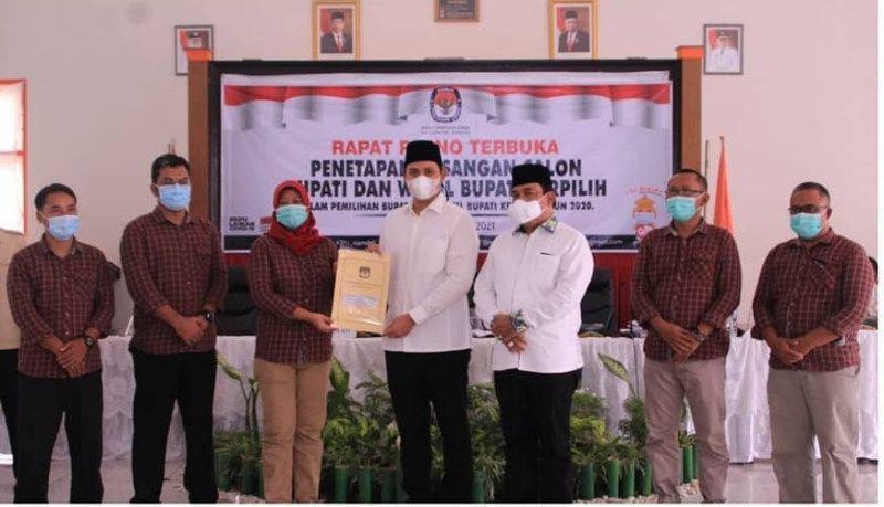 KPU Tetapkan Jagoan Golkar Dico Ganinduto-Windu Suko Basuki Jadi Bupati-Wakil Bupati Kendal