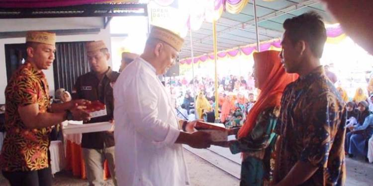 Kekuatan Sedekah Bawa Rusli Habibie Pimpin Provinsi Gorontalo Dua Periode