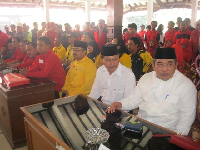 Bantah Rumor Dukung Joswi, Golkar Sukoharjo Merapat ke PDIP Dukung Etik-Agus