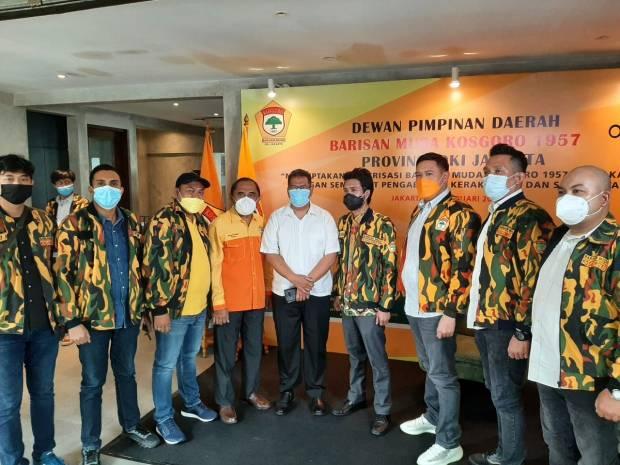 Duet Kemas Ilham Akbar-Almanzo Bonara Dijagokan Pimpin BMK 1957 Periode 2021-2025
