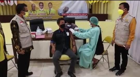 Cegah COVID-19, Yellow Clinic Golkar Jateng Gelar Vaksinasi Untuk Masyarakat Umum