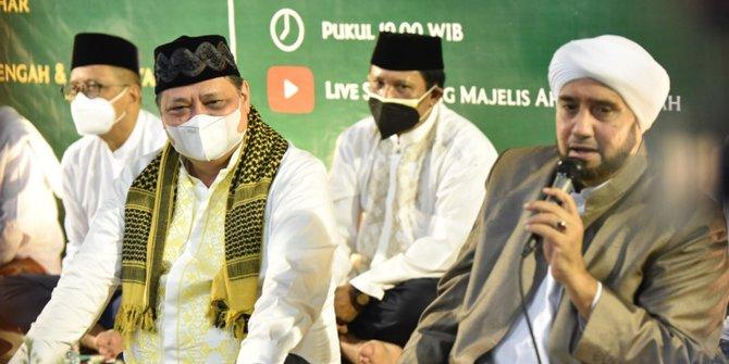 Gagas Koalisi Nasionalis Religius, Satkar Ulama Dorong Airlangga Rajin Temui Ulama dan Tokoh Umat