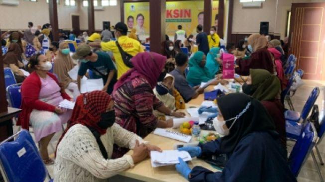 Gandeng Satgas COVID-19 Kabupaten Bogor, Golkar Gelar Vaksinasi Untuk 1.000 Warga Gunung Putri