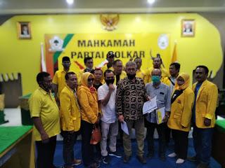 Nilai SK Ketua DPD II Golkar Bekasi Cacat Hukum, 15 Pimpinan PK Gugat Ke Mahkamah Partai