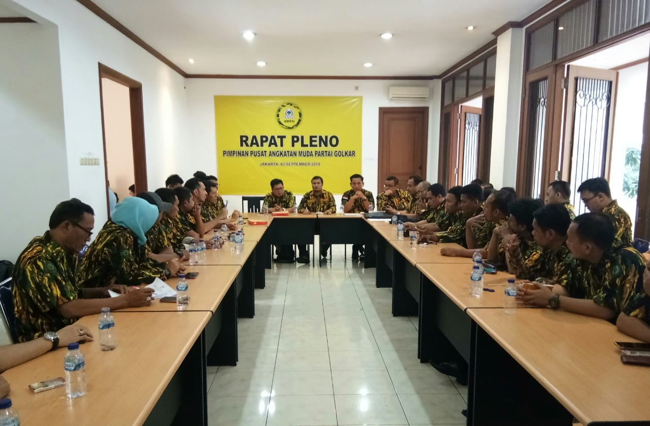 Rapat Pleno PP AMPG Berhentikan Ilham Permana Dari Posisi Ketua Umum