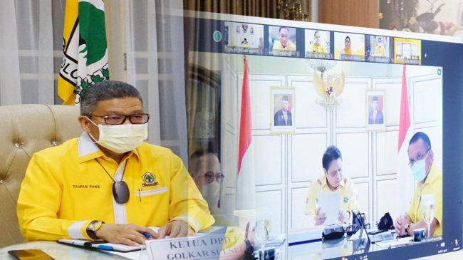 Diapresiasi Pasang Baliho di 44 Titik, Taufan Pawe Tegaskan Golkar Sulsel Solid Menangkan Airlangga