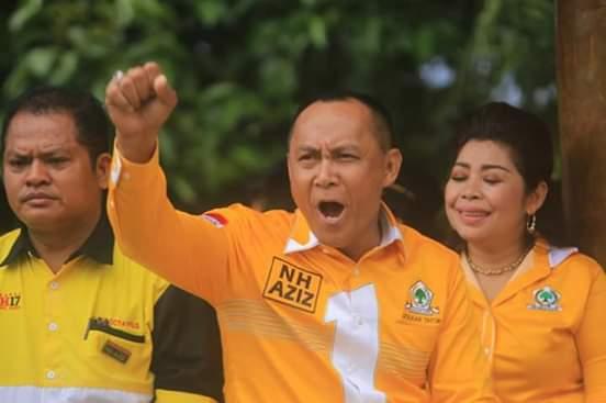 Di Depan Taufan Pawe, Victor Datuan Batara Janjikan Golkar Tana Toraja Sapu Bersih Kemenangan di 2024