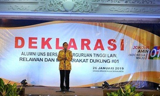 Akbar Tandjung Prediksi Jokowi Menang Mutlak 85 Persen di Solo Raya