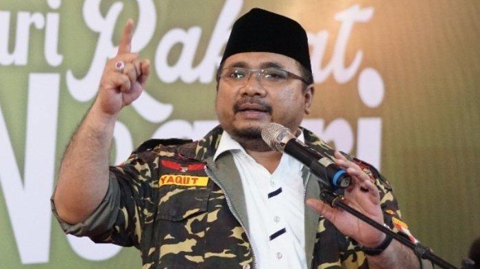 Jadi Menteri Agama, Ace Hasan Minta Yaqut Cholil Qoumas Tebar Moderasi Beragama