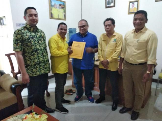 DPP Golkar Resmi Tunjuk Mazlan Jabat Ketua DPRD Tebo