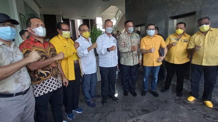Airlangga Hartarto Tegaskan Cawagub Papua Hak Golkar Dan Untuk Paulus Waterpauw