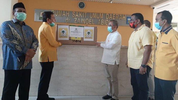 TM Nurlif dan Pengurus Golkar Salurkan Ribuan APD Ke Seluruh RS di Aceh